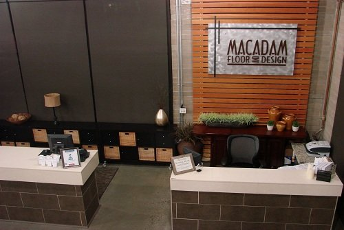 Image Of Front Desk For A Flooring Store Portland - Macadam Floor And Design