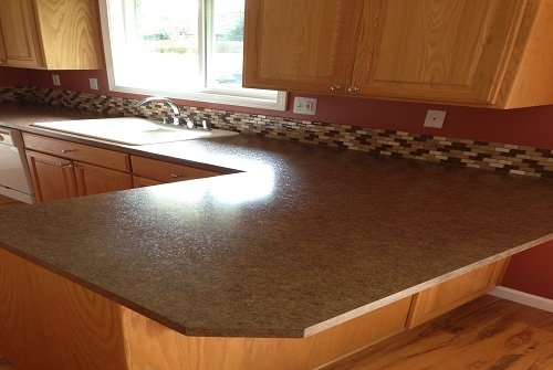 Laminate countertops macadam floor and design for Granite remnant cost per square foot