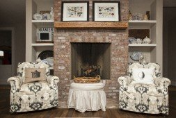 Tile and Stone Fireplace Gallery