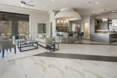 Macadam Floor and Design Tile Flooring Duomo Bianchi and Citadel Gray 2